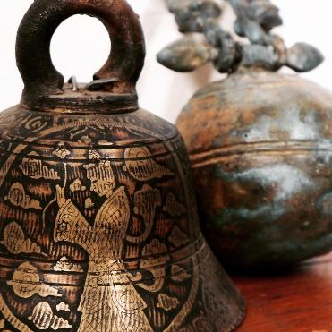 asian ceremonila bell and elephant bell