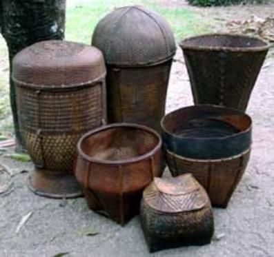hilltribe baskets