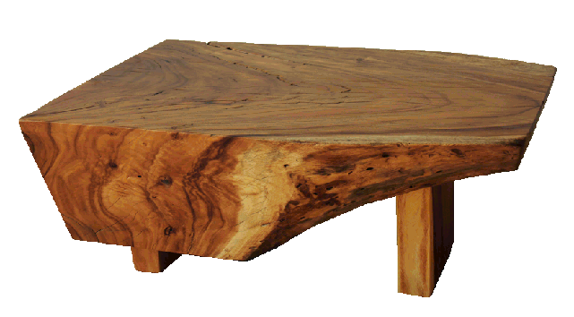 reclaimed wood acacacia organic coffee table